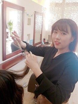 ヘアメイク スプラッシュ(Hair Make Splash)の写真/365日貴方の綺麗に寄り添いたいから…☆価格以上の価値を感じていただく《きめ細やかなカウンセリング》