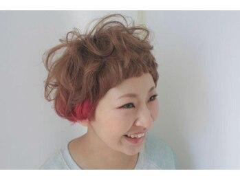 ヘアースペース レガッタ(hair space Regatta)の写真/デザインカラーカラーで周りと差がつくstyleに!!最旬デザインカラー&提案で自分史上最高を手に入れよう★