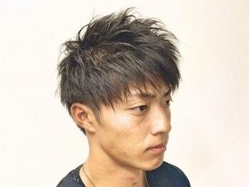 バーバーショップ テト キタヤマ(barber shop tete kitayama)の写真/【北山駅徒歩1分】メンズから定評あり!!ハイトーンカラーからデザインパーマまで予想を超える仕上がりに★