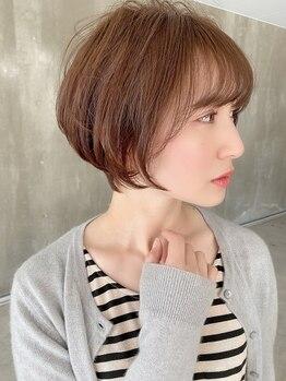 ビームズヘア 千種店(Bee ms HAIR)の写真/【大人気♪】92%天然由来の成分が髪に優しい◎ダメージレスにこだわる[Bee-ms]のカラーは大人女性必見★