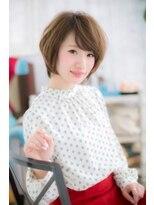重軽MIX☆フレンチガーリー小顔くせ毛風ウルフボブa1