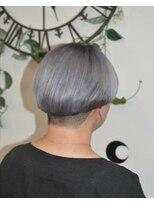 ヘアーサロン エール 原宿(hair salon ailes)(ailes 原宿)style360 ホワイトグレージュ☆マッシュ