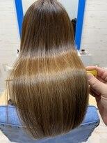 スローライフヘアーデザインアンドスパラウンジ(Slow life Hair design spa lounge)潤ツヤロング 質感矯正ミネコラ