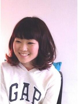 ヘアーカーブ(haircarve)haircarve春☆ショコラブラウンカラー・ボブ