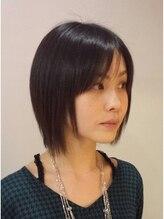 ヘアースペーストワ(Hair Space 108)キレかわ、ひし形レイヤーボブ☆