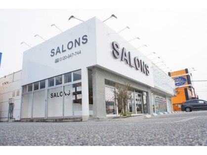 サロンズヘアー 福山西新涯店(SALONS HAIR)の写真