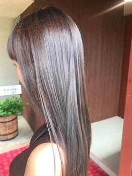 アッドランプ ヘアー 則武店(add Lamp hair)の写真/頭皮に優しい天然小麦粉カラーを体験出来るadd-Lamp hair !!カラーをする度にパサつきのない美しい髪へ♪