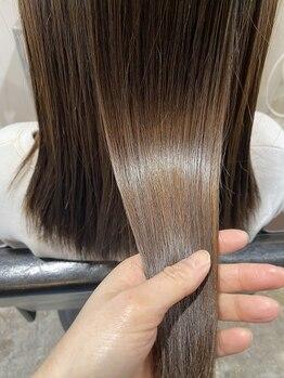 アークヘアーソア 和歌山市駅店(Arc hair soar)の写真/【髪質改善◆最新TOKIOリミテッド+カット¥5500】悩み・髪質に合わせてダメージ補修。サラ艶美髪へ◎