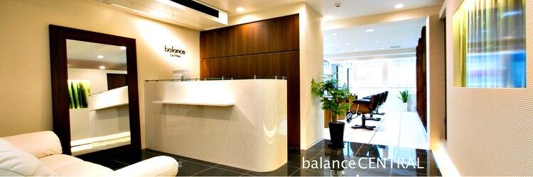 バランスセントラル(balance CENTRAL)のサロンヘッダー