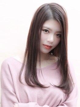 トリ 三宮店(TORi)の写真/[ミント神戸横]酸性ストレートで自分史上最高のツヤ髪を手に入れましょう☆縮毛矯正講師在籍サロン!