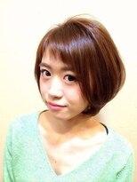 ティアマット 赤坂(Tiamat)前髪がかわいいグラデーションボブ