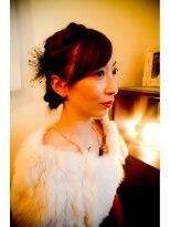 オッヂヘア(oggi hair)シットリとゆらぎアレンジ