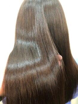 """グルグル 本八幡店(GULGUL)の写真/髪の状態や、お好みの仕上がりに合わせて選べる4種類のトリートメントで、365日""""愛される髪""""に♪【本八幡】"""