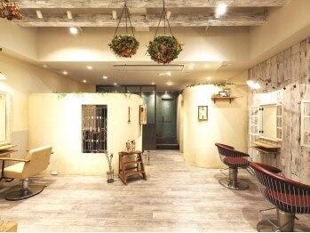 コトノハ 大宮店(cotonoHa)の写真/『こんなサロンを探してた。』ほっこり、あたたかい気持ちになれるcotonoHa。オシャレで居心地の良い空間…