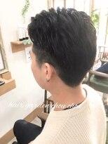 """ヘアーガーデン シュシュ(hair garden chou chou)""""大人さわやか""""メンズ2ブロック"""