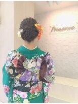 プリマベーラ(Primavera)振袖 ヘアセット・着付け 11