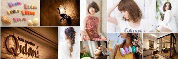 ヘアークリエイション クラニ(hair creation Qulani)のサロンヘッダー