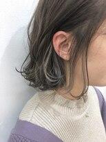 【STILL un label 】ホワイトインナーカラー
