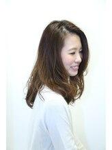 ヘアーデザイン エアージーモ(Hair design Air G mo)ミディアムロングパーマ