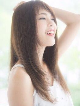 プライム primeの写真/【リピーター多数】クセを伸ばすことに自信あり◎ダメージレスで傷んだ髪にも施術可能な確かな技術がウリ♪