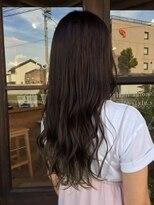 髪質改善カラーエステ【艶色アッシュカラー】オーダー率当店No.1