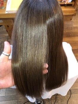 """カミゴコチ(KAMIGOKOCHI)の写真/お客様一人ひとりのなりたいに合わせてアイテムを組み合わせる""""Jalire""""取扱い◇髪本来の美しさを引き出す―"""
