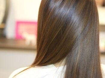 アズグロウヘアー(AS GROW HAIR)の写真/【美人百花/ar/Ray】掲載♪話題の【髪質改善】美髪トリートメント☆毛先までスルンと収まりの良い髪質に◎