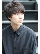 クーエフー(coo et fuu)清潔感溢れる黒髪マッシュ 内見 加瑞磨