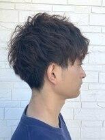 ヘアーグルーミング アイム(Hair &Grooming aim)【メンズカット】スパイラルパーマ&刈り上げショート