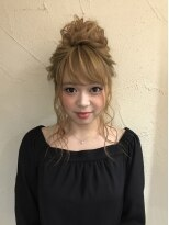 セットサロンエース(Set salon Ace)ルーズトップシニヨン☆