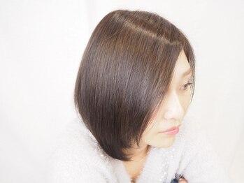 ルーツ(roots)の写真/【オーガニックカラー+カット¥4950】発色、手触り、艶をぜひ実感して♪ダメージレスで旬カラーにチェンジ☆