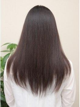 ラルゴ(largo)の写真/【☆髪のダメージが気になる方へ☆】largoの水素トリートメントでうるうるツヤツヤな髪へ…♪