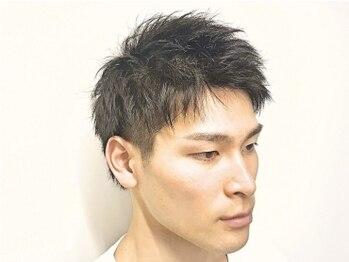 バーバーショップ テト キタヤマ(barber shop tete kitayama)の写真/【北山駅徒歩1分】メンズサロンならではの男性のくつろげる空間。落ち着いた接客でリピーター多数!!