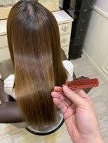 ヘアアンドメイクグラチア(HAIR and MAKE GRATIAE)ホホバオイル配合ストレート