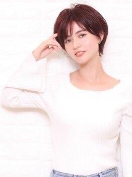 イングリッシュローズィーズ(TheEnglishRoses)の写真/スキンケア発想のカラー!大人世代の女性をもっと美しく♪ダメージを抑えながら艶やかな潤いに満ちた髪へ!