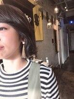アティック ヘアーデザインアンドリラクゼーション(attic hair design&relaxation)ゆるウェーブのボブ☆