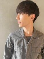 【PARK】黒髪×スリークマッシュ