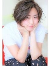 オッジヘアー(oggi si hair)【oggi si hair】ショートボブ×ゆるふわ無造作カール