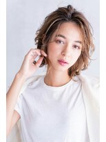 Lien☆美髪ブランジュバレイヤージュレイヤー外ハネボブ