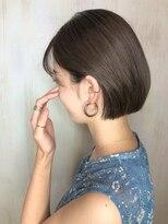ソース ヘア アトリエ 京橋(Source hair atelier)【SOURCE】耳かけボブ