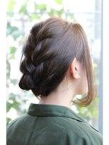 ティースタイル(hair salon t-style)カジュアルアレンジ