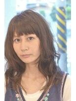 エヌ プラス(N+)◆短め前髪でアクセント◆大人レイヤーボブルフ[ショート/藤沢]