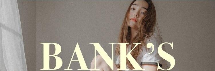 バンクスヘアー(BANK'S HAIR)のサロンヘッダー