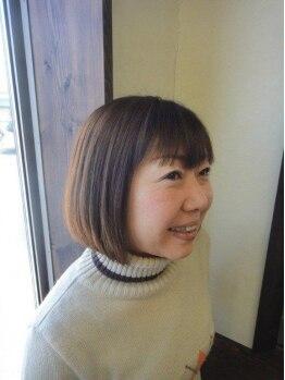 アグリームヘアー(Agleam Hair)の写真/【仕上がりの良さに定評あり☆】1人のスタイリストが最初から最後まで丁寧に施術するサロンです!