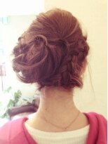 ヘア デザイン スタイリー(Hair Design stylee)編み込みパーティーセットstylee