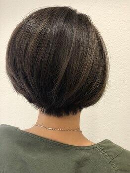 オレンジポップ 蘇我店(ORANGE POP)の写真/[いつまでもキレイに私らしく]あなたの髪質/白髪状態に合わせ調合!しっかり栄養補給する髪質改善カラーを♪