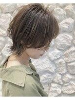 モアナ バイ ヘッドライト 駒沢大学店(Moana by HEADLIGHT)Moana駒沢大学#エアリーウルフ#ショート