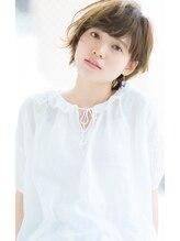 リル ヘアーデザイン(Rire hair design)【Rire-リル銀座-】カットで決まる☆アンニュイショート