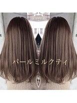 シキオ ヘアデザイン(SHIKIO HAIR DESIGN FUK)パールミルクティ