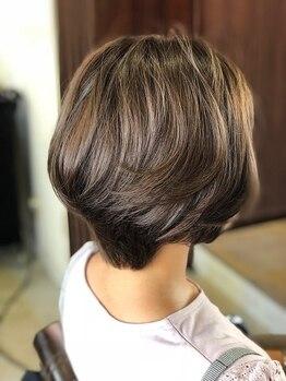 バッサ(BASSA)の写真/【門前仲町徒歩3分】頭皮にやさしく、髪が傷みにくい!厳選された薬剤と高技術で理想のカラーに導く♪